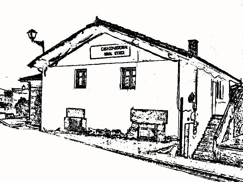Dibujos de casas antiguas imagui for Casas para dibujar